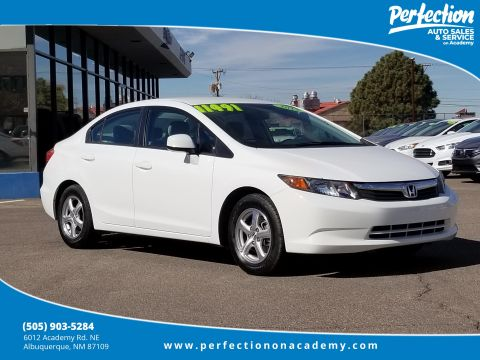 Pre-Owned 2012 Honda Civic Sedan CNG