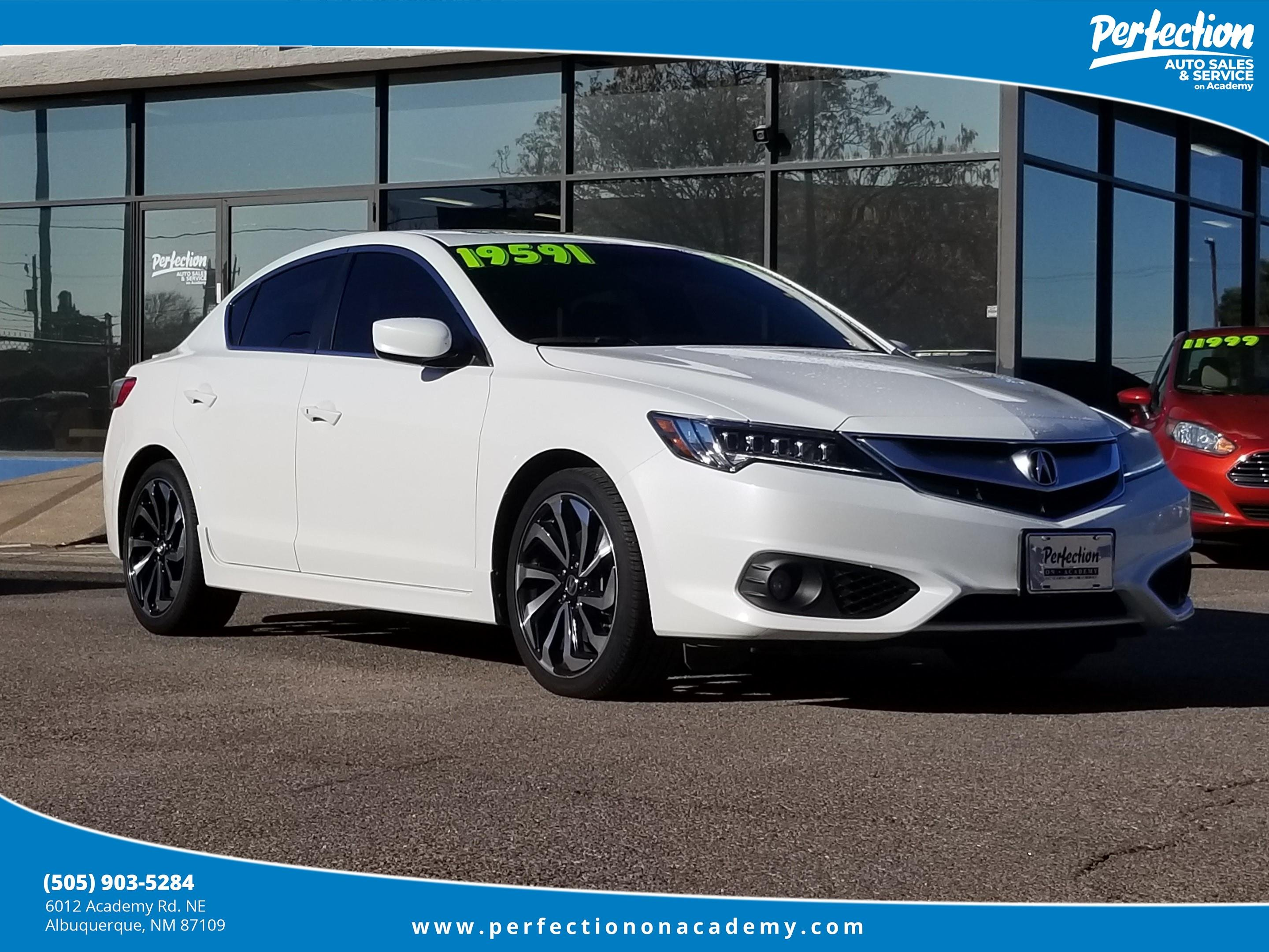 Pre-Owned 2017 Acura ILX Premium and A-SPEC Packages