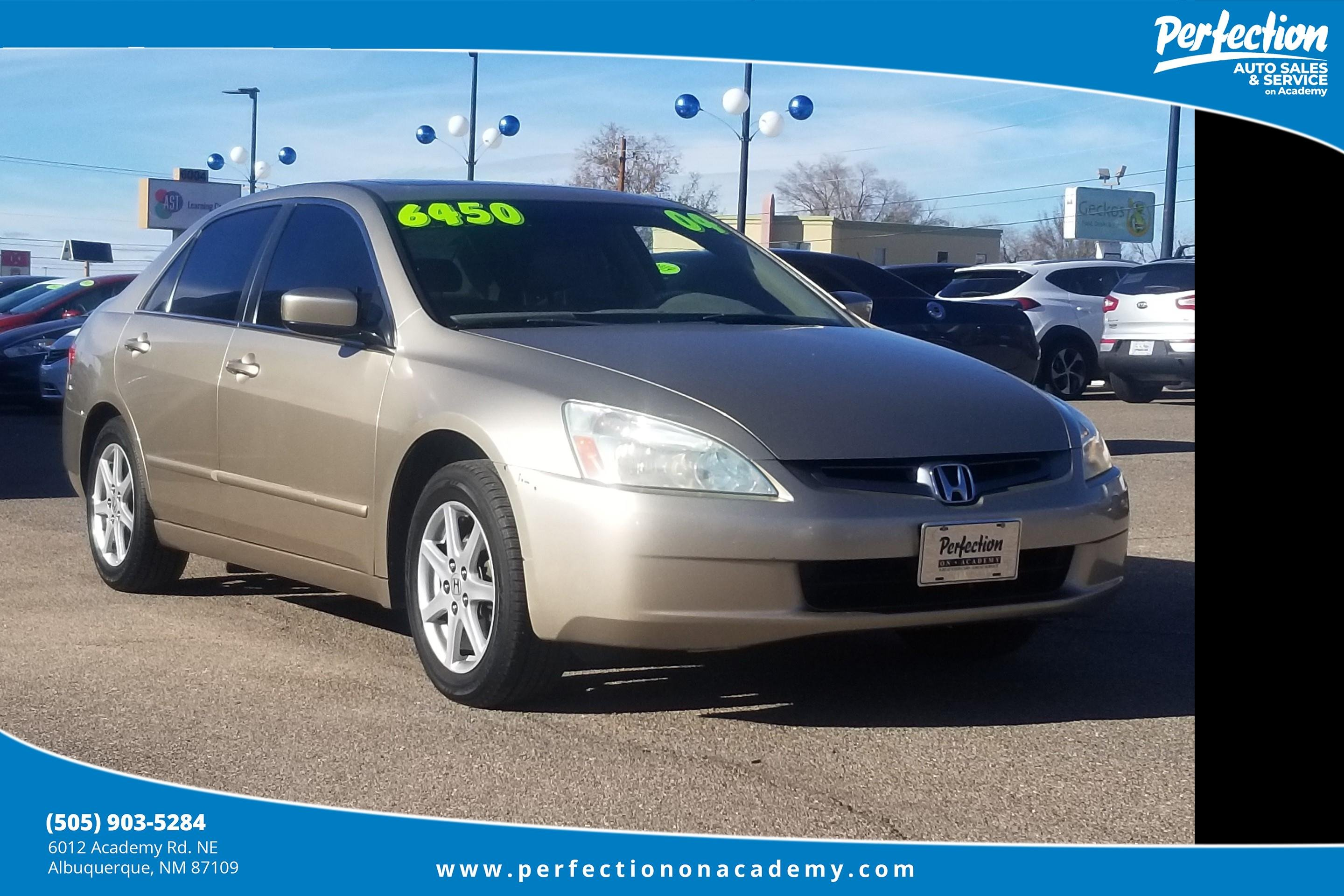 Pre-Owned 2004 Honda Accord Sedan EX