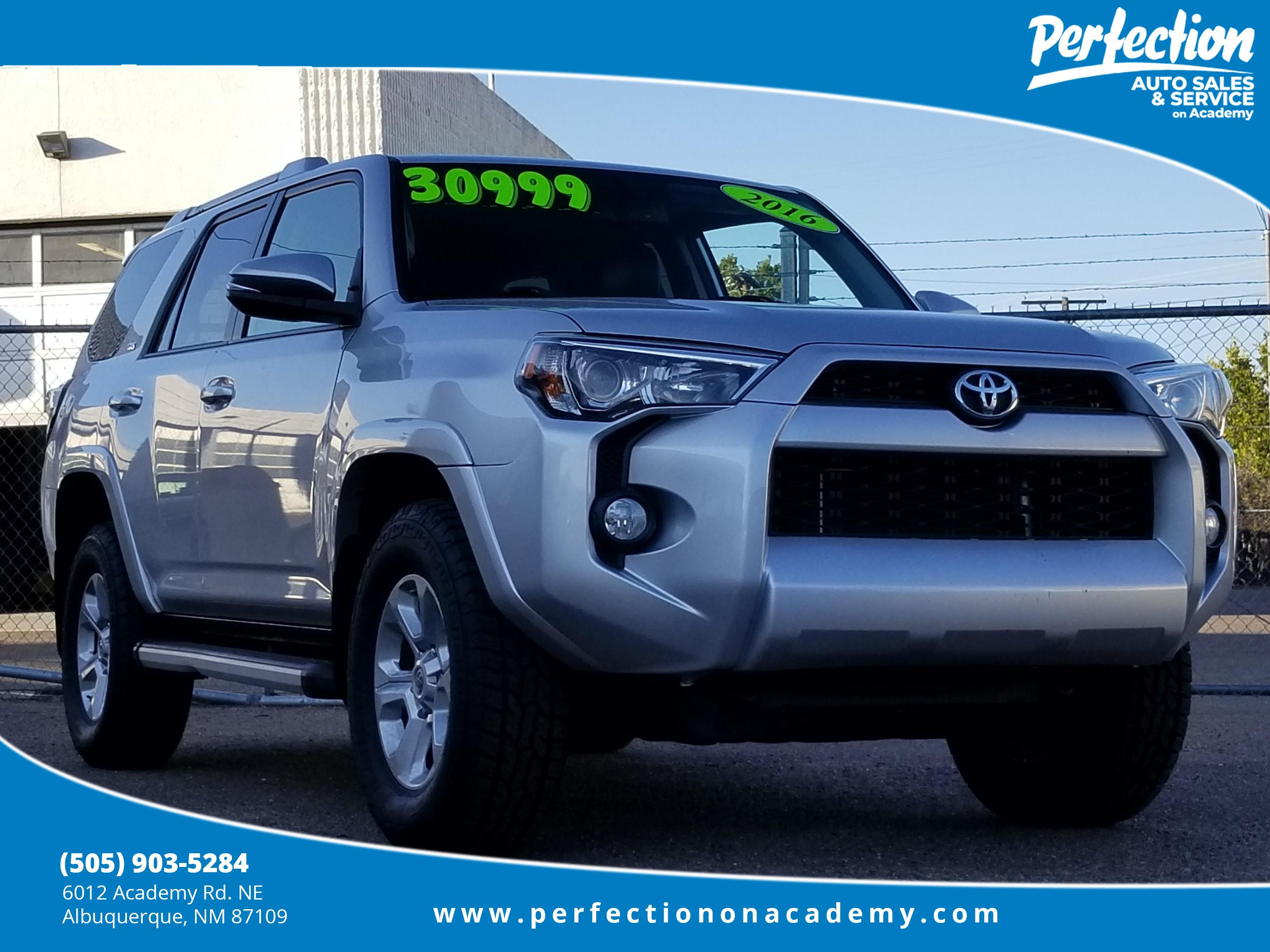 Toyota Sr5 Premium >> Pre Owned 2016 Toyota 4runner Sr5 Premium With Navigation 4wd